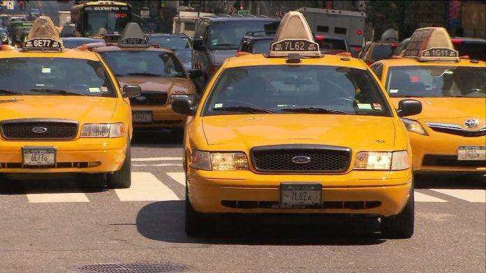 Hiring a taxi